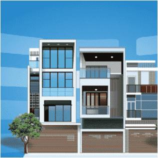 Cửa cuốn Austdoor cho không gian kiến trúc hiện đại