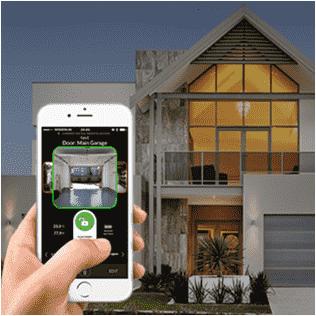 Điều khiển cửa cuốn Austdoor dễ dàng bằng Smartphone
