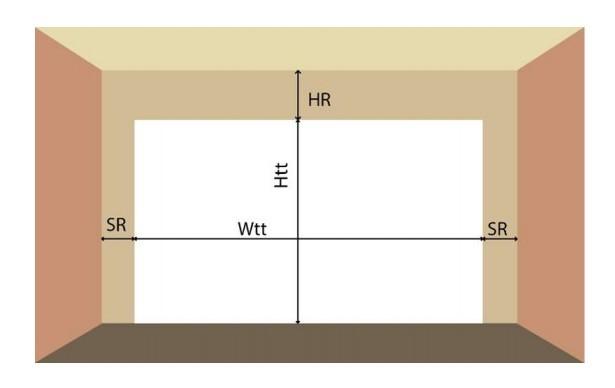 Cách đo vị trí để lắp đặt cửa cuốn tự động